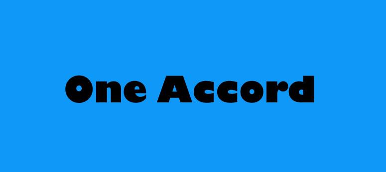 One Accord Gospel Bluegrass
